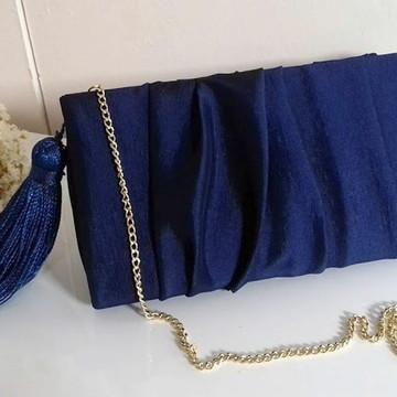 Bolsa de festa azul marinho
