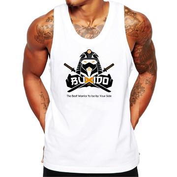 Camiseta Regata Masculina Buxido Personalizada Skull Swag