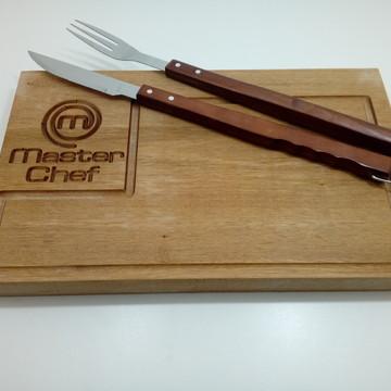 Tabua de carne Master Chef Personalizada
