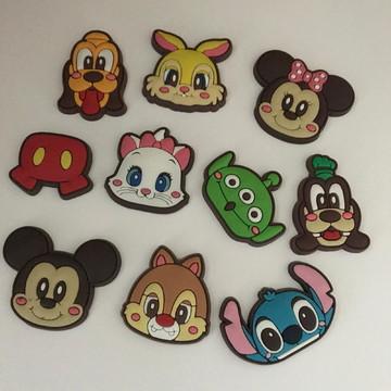Aplique borracha personagens Disney - 10un