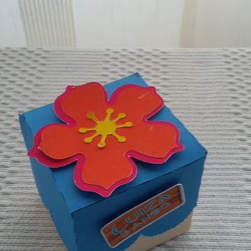 caixa 5 x 5 scrap Moana Baby