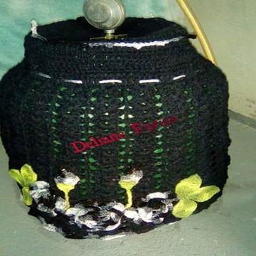 Capa de botijao em crochê