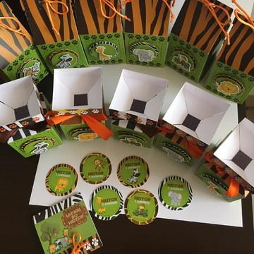 Kit Safari Personalizado 60 produtos