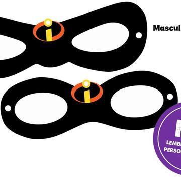 Máscaras Os Incríveis