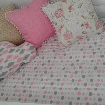 Edredom com elastico para mini cama