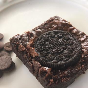 Mini Brownie de Oreo