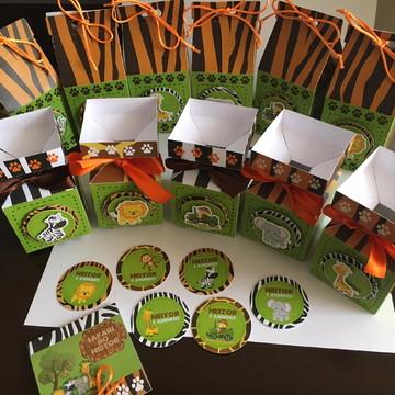 Kit Safari Personalizado 120 produtos