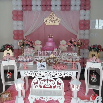Aluguel decoração ursa princesa