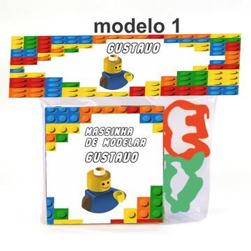 massinha e 2 cortador-Lego