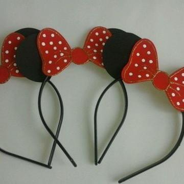 Tiaras da Minnie Vermelha