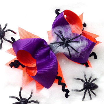 Laço Boutique com Spike Halloween 2