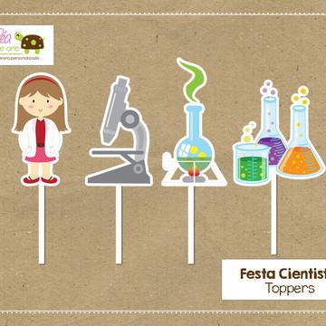 Topper Cientista Menina