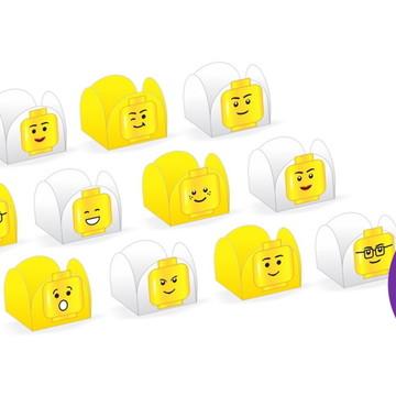 Forminha de Doce Lego