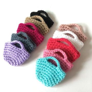 Miniaturas de crochê - Bolsinhas