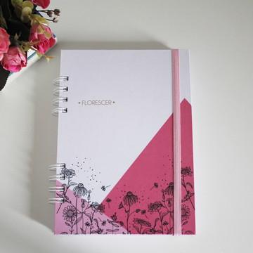 Planner Florescer 2019 #rosa