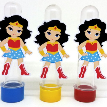 Kit Apliques Mulher Maravilha
