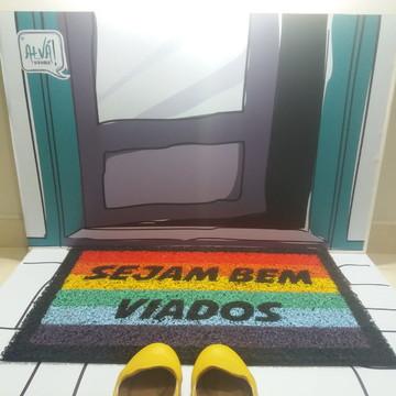 Sejam Bem Viados (arco-íris)
