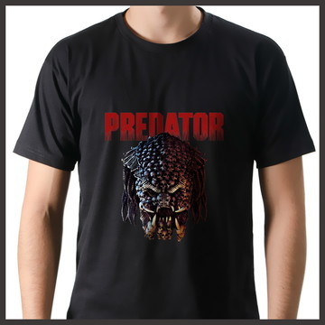 Camiseta Filme O Predador