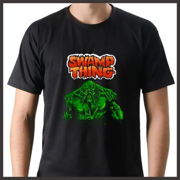 Camiseta Geek Games Monstro do Pântano NES
