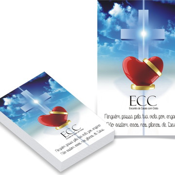 ECC - ENCONTRO DE CASAIS - BLOCO DE ANOTAÇÕES
