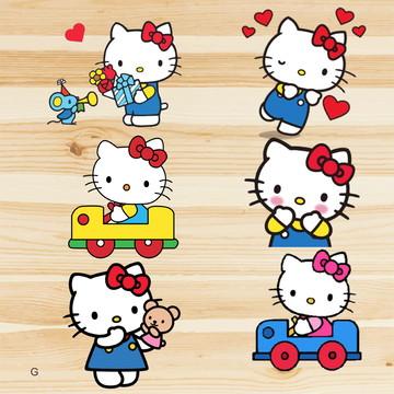 100 Apliques - Hello Kitty