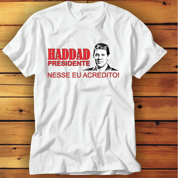 49967cdde9 Camiseta Haddad Modelo 2