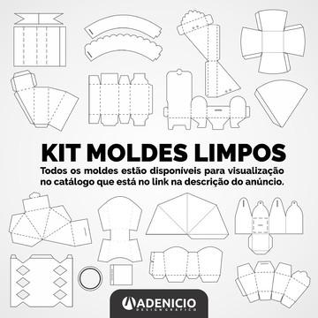 KIT MOLDES LIMPOS - Festa Digital - CorelDraw