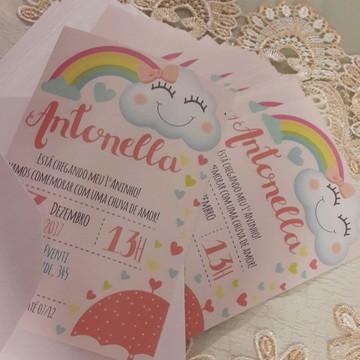 Convite Impresso Tema novo