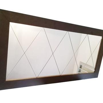 Espelho Mosaico com moldura 100 x 50 cm