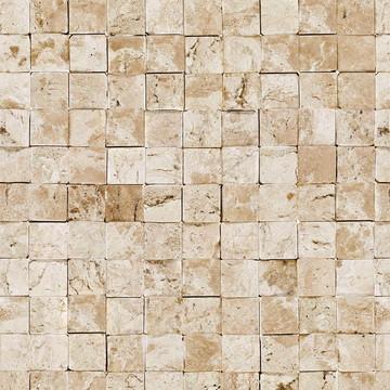 Papel Parede Mosaico Sob Pedras Canjiquinha e Granitos