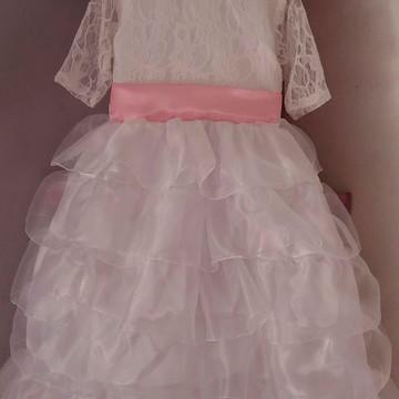 Vestido infantil Dama de Honra