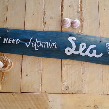 Placa Decorativa Vitamin Sea costaneira