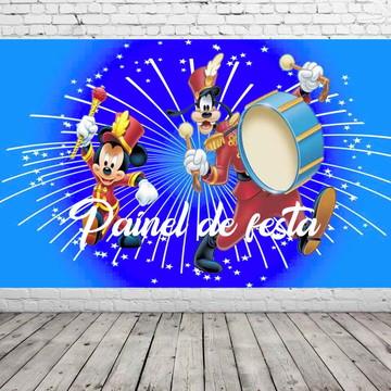painel de festa circo do mickey