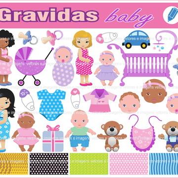 gestantes gravidas baby recem nascido vetores imagens