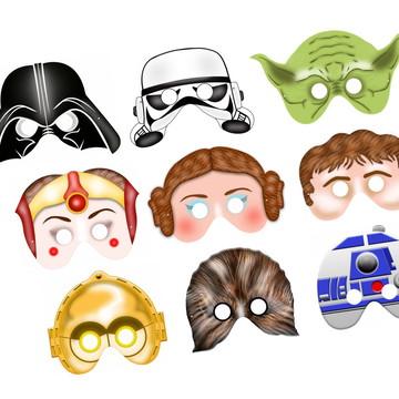 Máscaras Star Wars