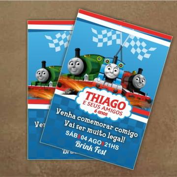 Convite de Aniversário Thomas e seus amigos