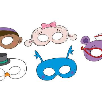 Máscaras Doutora Brinquedos