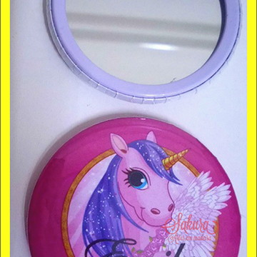 Espelhinhos personalizados com sua arte
