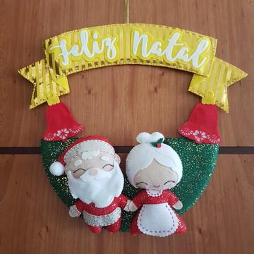 Apostila Guirlanda Papai Noel e Mamãe Noel