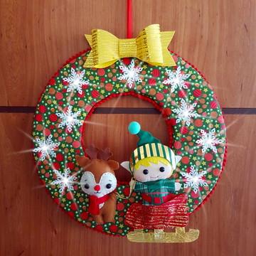 Apostila Guirlanda Luminosa Rena e Ajudante do Papai Noel