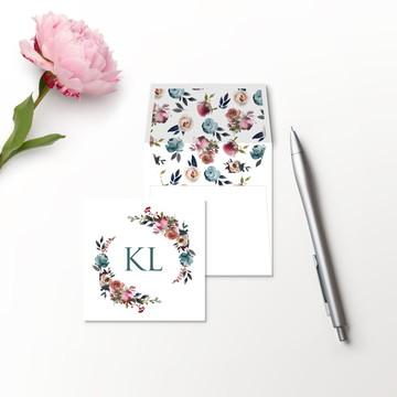 Cartão Social Mist (Duplo)