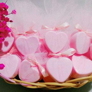 Lembrancinha Casamento Sabonete de coração