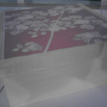 Caixa em MDF com decoupagem