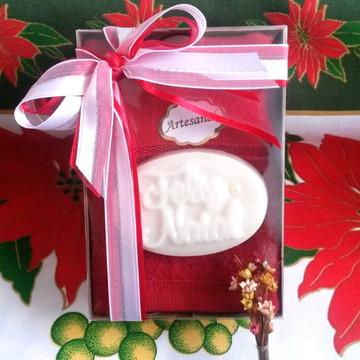 Kit Sabonete Natal com toalhinha