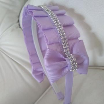 Tiaras com tecido