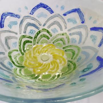 Bowl em vidro fusing