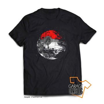 Camiseta Pokeball Death Star - Star Wars