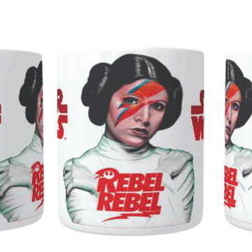 Caneca Princesa Leia - Star Wars - Rebel rebel