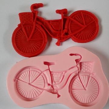 molde de silicone bicicleta