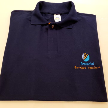 Camiseta/Camisa Bordada